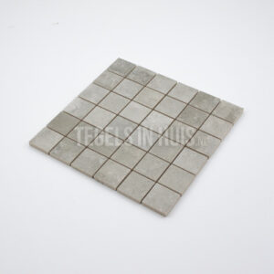 Mozaiek Altibes 5x5 parel grijs per matje 30x30