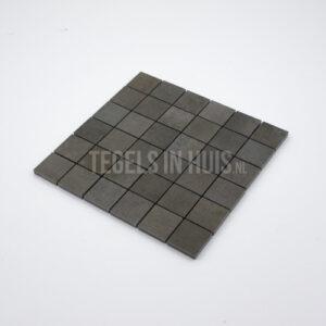 Mozaiek Gerhy 5x5 Plomo antraciet per matje 30x30