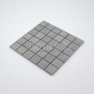 Mozaiek Siro 5x5 grijs per matje 30x30
