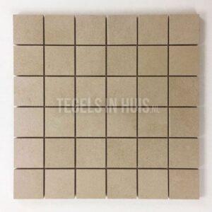 Lana mozaiek 5x5 sand 5x5cm