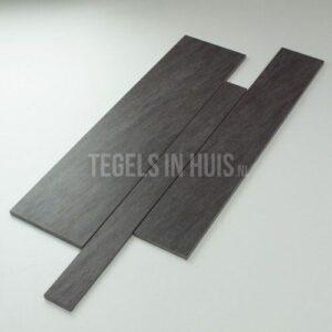 Wandstroken mix quartz zwart antraciet 5 10 15x60cm