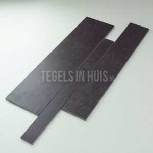 Wandstroken Belgisch hardsteenlook zwart