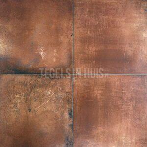 Boeren plavuizen - Estriken donker bruin 30x30