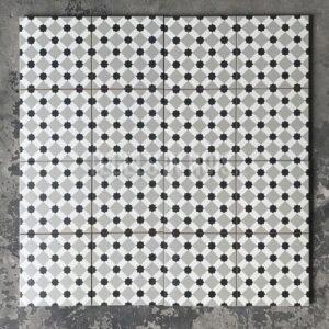 Vloertegel Henley grey 45x45 cm ( 4 in 1 tegel ) vintage