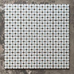 Vloertegel Henley Ice 45x45 cm ( 4 in 1 tegel ) vintage