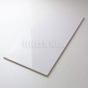 Wandtegel Glans Wit 25x50 cm