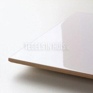Wandtegel Glans Wit 25x40 cm