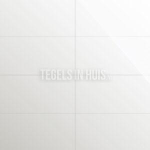 Wandtegel Glans Wit 30x60 gerectificeerd professionele kwaliteit