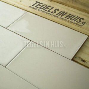 Wandtegel Artic handvormlook 10x20cm licht beige ( hueso )