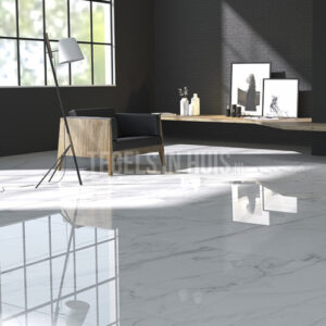 Vloertegel Viter marmer grijs 120x120 gepolijst gerectificeerd (min afname 51,84m2)