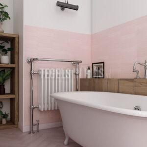 Wandtegel Arrow Blush Pink roze 5x25